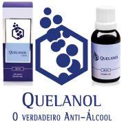 Anti-álcool Como Parar de Beber com 04 frascos de Quelanol