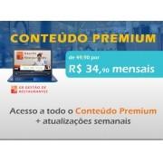 Conteúdo Premium - Plano Anual