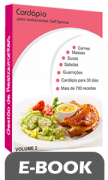 Cardápio para Restaurantes Self-Service - Volume 2 - Digital