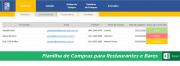 Planilha de Compras - COD 0214