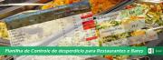 Planilha de Controle de Desperdício de alimentos para Restaurantes - COD: 0215