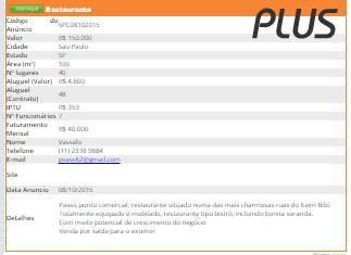 Classificados PLUS  - GR - Treinamento em Gestão de Restaurantes e Gastronommia