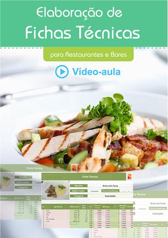 Elaboração de Ficha Técnica para Restaurantes  - GR - Treinamento em Gestão de Restaurantes e Gastronommia