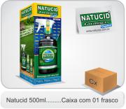 Cód. 19 -Natucid 500ml - Eficaz contra Formigas, Cupins e Baratas - Cx 01 frasco