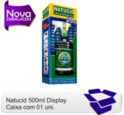 01 Frasco Natucid display 500ml Inseticida eficaz contra, Cupins de gramados, montículos e madeiras.