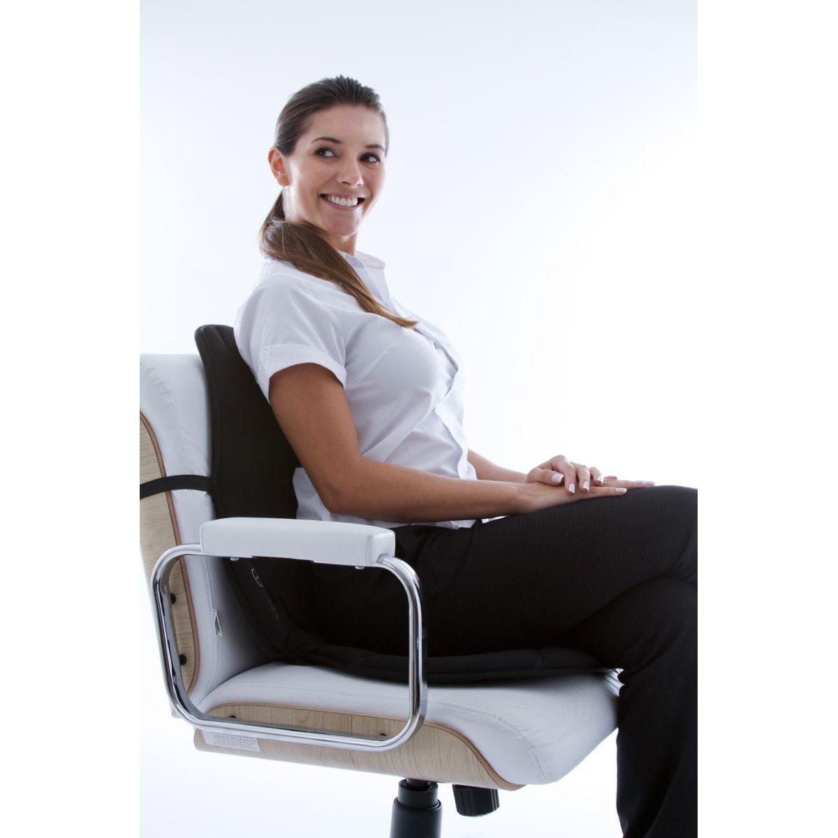 Assento Massageador Relaxor Cor: Preto