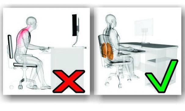 Bio Coluna Encosto Ortopedico  Cor: Preto Tam: Único