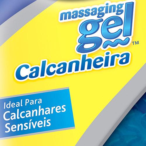 Calcanheira Feminina Massaging Gel  Tam: Único
