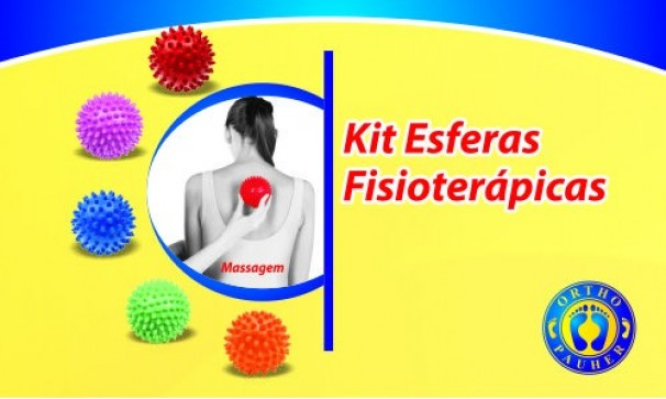 Esferas Fisioterápicas Fisiopauher  Tam: Único