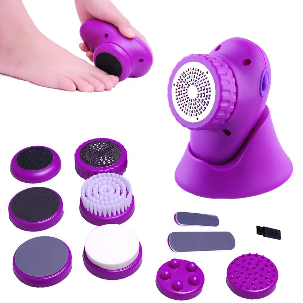 Feet Care Massageador Multifunção Cor: Roxo