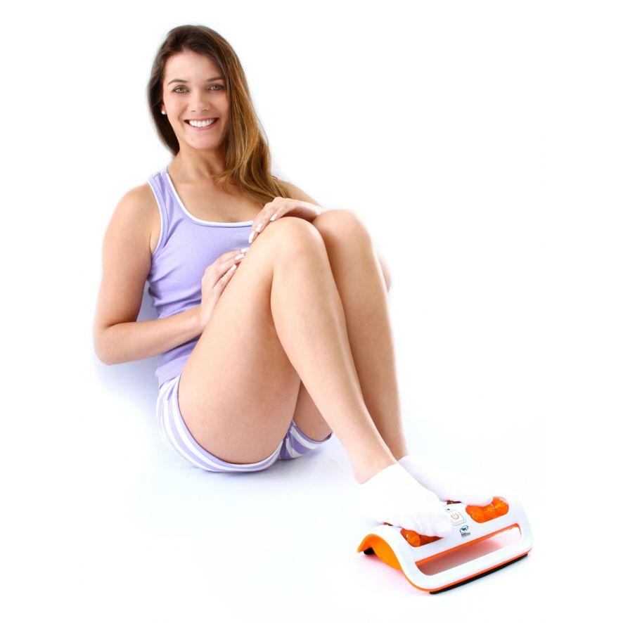Massageador Para Pés Foot Relax Massager Cor: Azul