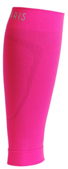Meia Polaina Elastica Para Corrida Pulse Road 510 Cor: Rosa Neon Tam: M41-44