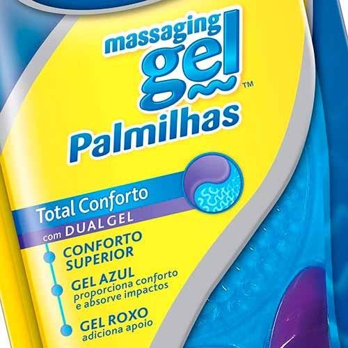 Palmilha Masculina Massaging Gel  Tam: Único