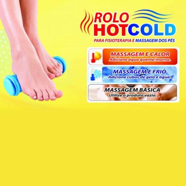 Rolo Para Massagem E Fisioterapia Hot Cold