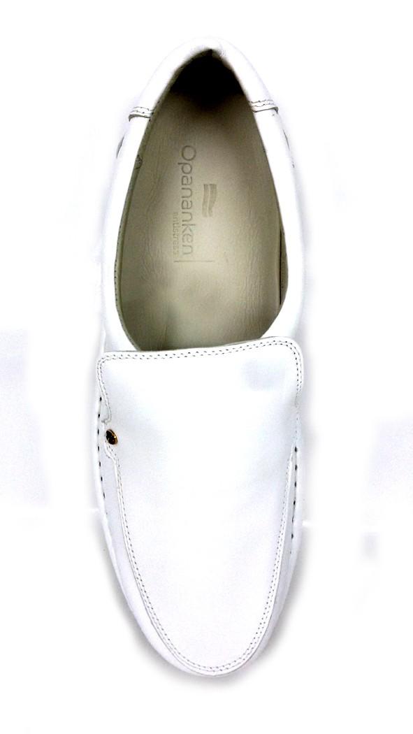 Sapato Diabetics Line Antistress Opananken 10101 - Branco