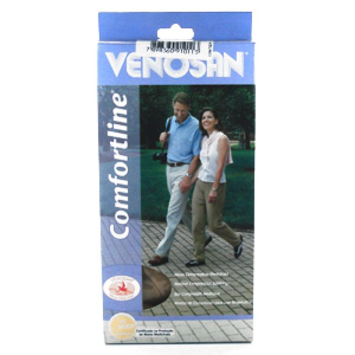 Venosan Comf. Cotton 20/30 Ad Pé Aberto Cor: Bege Tam: Xgl