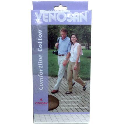 Venosan Comf. Cotton 30-40 Ad Pé Aberto Cor: Bege Tam: M/C