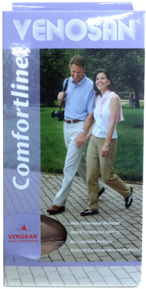 Venosan Comfortline 20-30 Ad Pe Aberto Cor: Bege Tam: G