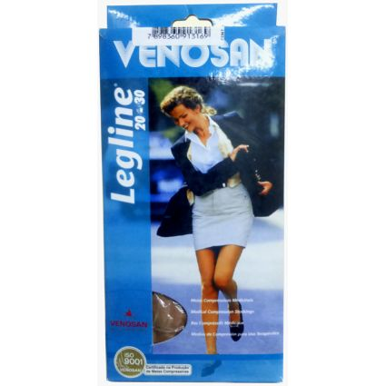 Venosan Comf. Cotton 20/30 Ad Pé Aberto Cor: Bege Tam: M/L