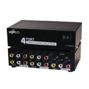 Distribuidor RCA 1 Para 4 Saídas Amplificado