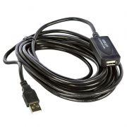 Cabo Extensor USB 2.0 Amplificada 5 - Metros