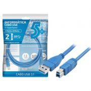Cabo USB 3.0 Super Speed - 3 Metros