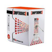 Caixa de Rede CAT5e UTP Network Comptronics AZUL 100 - Metros