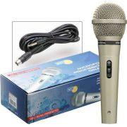 Microfone Com Fio Profissional Dinâmico M-515 - MXT