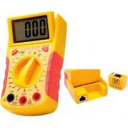 Multímetro Digital Com Testador Rede  DT-68DB