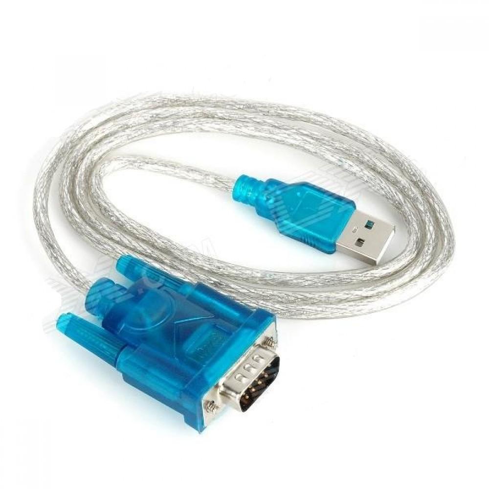 Cabo Conversor USB Para Serial -RS232  - LD Cabos Soluções Áudio e Vídeo