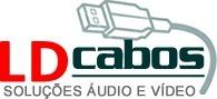 Cabo Coaxial Antena Tv Rg-6 6 Metros Ld Cabos  - LD Cabos Soluções Áudio e Vídeo