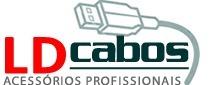 Cabo P2 X P2 2mts Metal Ld Cabos  - LD Cabos Soluções Áudio e Vídeo