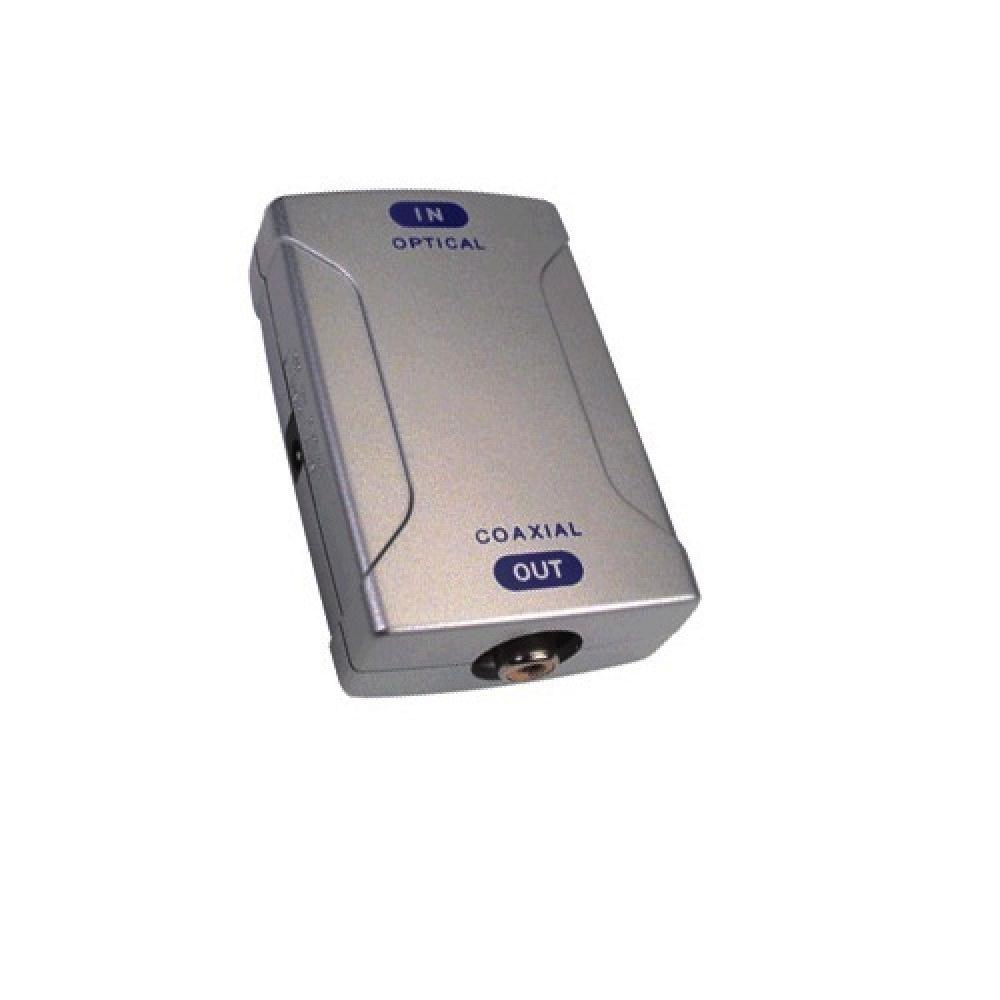Conversor Óptico para Coaxial  - LD Cabos Soluções Áudio e Vídeo