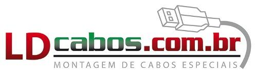 Cabo P2 X P2 Profissional 3 Mt Ld Cabos  - LD Cabos Soluções Áudio e Vídeo