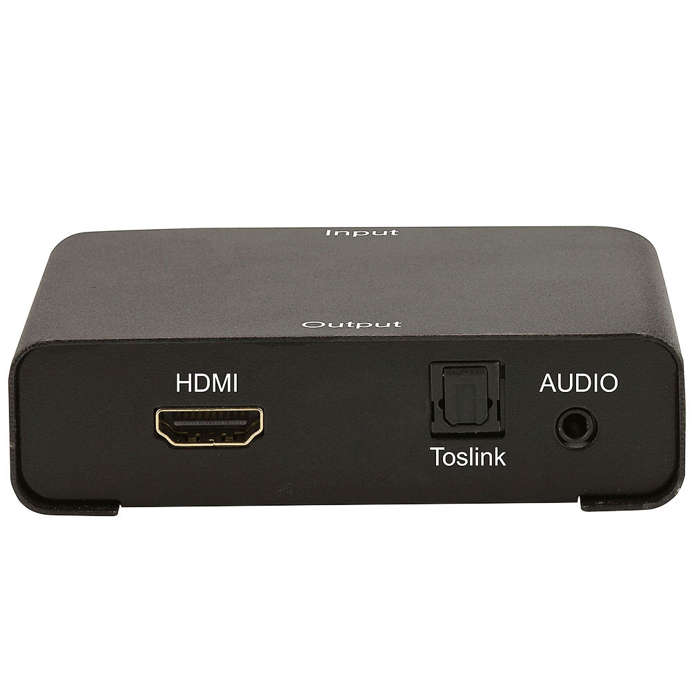 Extrator Amplificado de Áudio HDMI- P2 e Digital Toslink  - LD Cabos Soluções Áudio e Vídeo