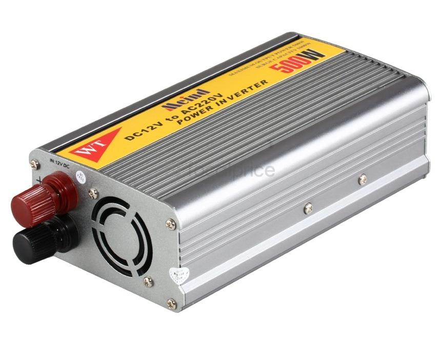 Inversor de Tensão Meind 500W 12V para 110V Transformador Multi Uso  - LD Cabos Soluções Áudio e Vídeo