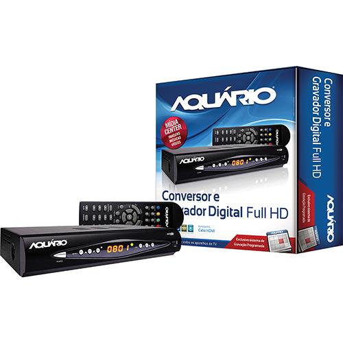 Conversor e Gravador Digital Aquário DTV-8000  - LD Cabos Soluções Áudio e Vídeo