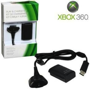 Bateria Com Carregador Para Controle- XBOX 360  - LD Cabos Soluções Áudio e Vídeo