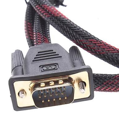 Cabo DVI-I Para VGA 1.5 Metros  - LD Cabos Soluções Áudio e Vídeo