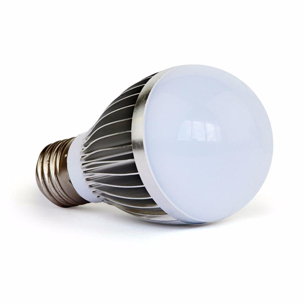 Lâmpada De Led E27 5x1w - Branca Natural  - LD Cabos Soluções Áudio e Vídeo