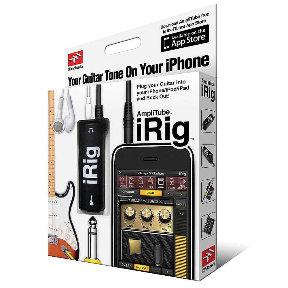 iRig Amplificador com Efeitos Sonoros P2  Para Iphone , Ipod , Ipad  - LD Cabos Soluções Áudio e Vídeo