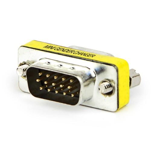 Emenda VGA Macho Para Macho  - LD Cabos Soluções Áudio e Vídeo