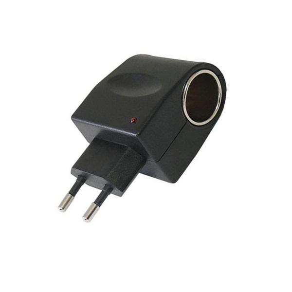 Adaptador Veicular 12v Para Tomada De Casa 110v E 220v  - LD Cabos Soluções Áudio e Vídeo