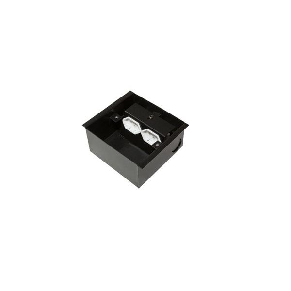 Caixa de Tomada Para Piso Elevado SPE-800S  - LD Cabos Soluções Áudio e Vídeo