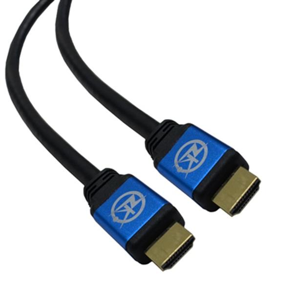 Cabo HDMI 2.0 UltraHD 4K 3 Metros  - LD Cabos Soluções Áudio e Vídeo