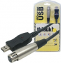 Cabo Interface Microfone Usb Para Xlr Cannon And Play