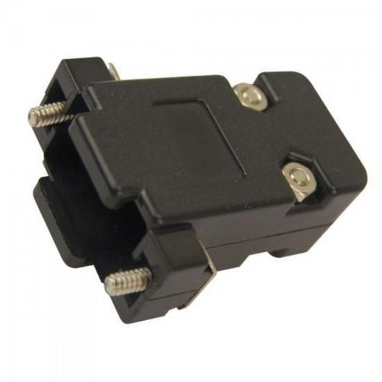 Capa Para Conector DB-9 Plastica KIT Curto  - LD Cabos Soluções Áudio e Vídeo