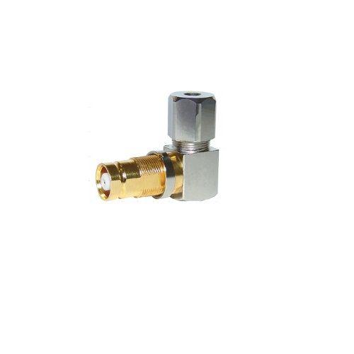 Conector Spinner IEC 0,4/2,5 Fêmea 90º  - LD Cabos Soluções Áudio e Vídeo