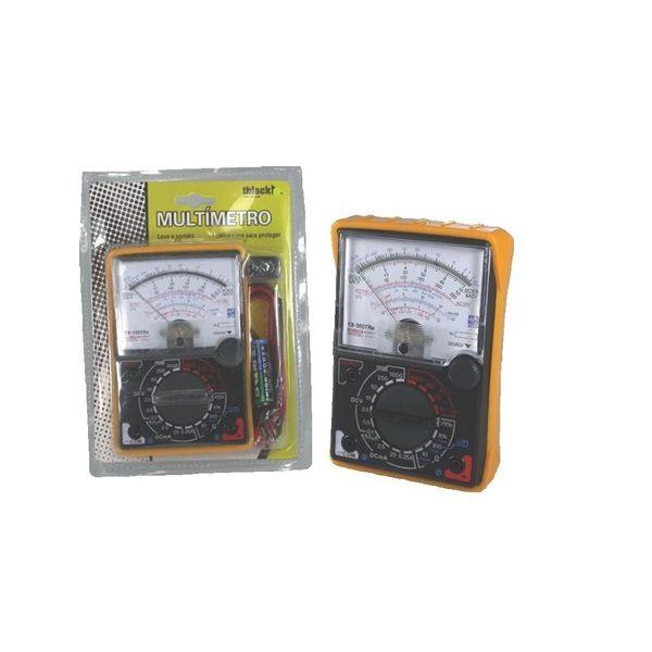 Multímetro Analógico Profissional 20m Capa Protetora YX360 TRN  T- Black  - LD Cabos Soluções Áudio e Vídeo