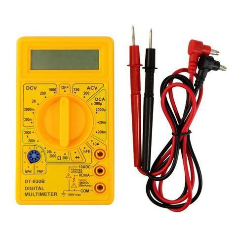 Multímetro Digital DT- 830  - LD Cabos Soluções Áudio e Vídeo